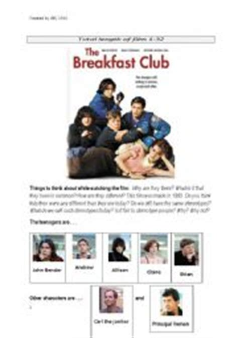 express essay breakfast club essay end top writers online english worksheets the breakfast club