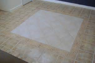 Ceramic Floor Tile Patterns Look Ceramic Tile Floor With Border Tile In Rug Pattern