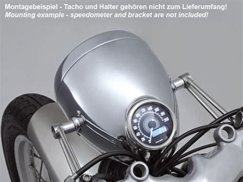 Motorrad Zwei Scheinwerfer by Kkmoon 12v Motorrad 13000rpm Tachometer Km H Tacho Dual