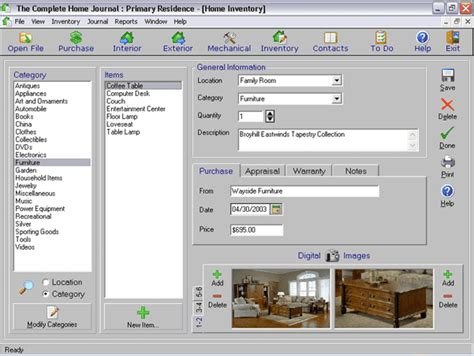 take inventory of your home with this software