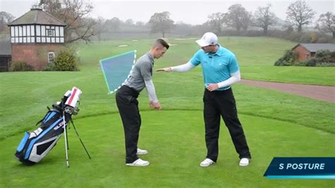 posture in the golf swing how to create a good posture for your golf swing youtube