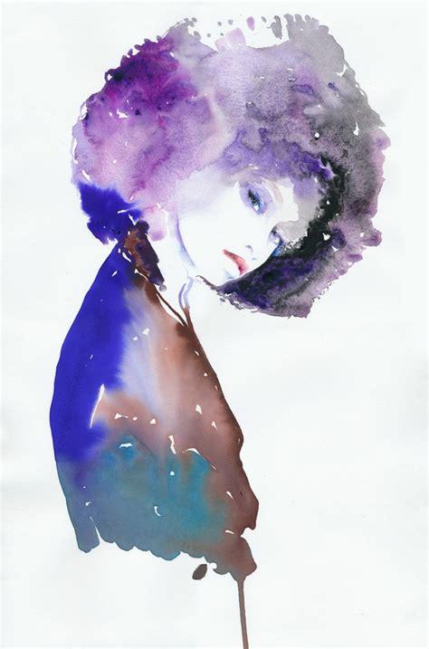 fashion illustration watercolor watercolor fashion illustration original watercolor