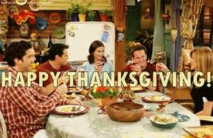 thanksgiving tv episodes friends gif find amp share on giphy