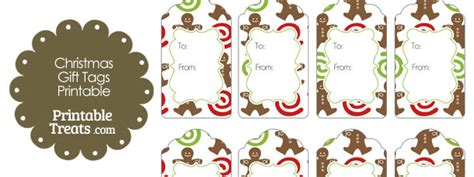 printable gingerbread man gift tags gingerbread cookie gift tags printable treats com
