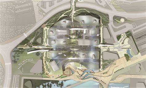 Architectual Plans Gallery Of International Pavilion Of Yeosu Expo H