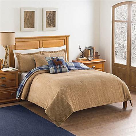 Ellery Homestyles Studio Hudson Corduroy Reversible Corduroy Bedding Sets