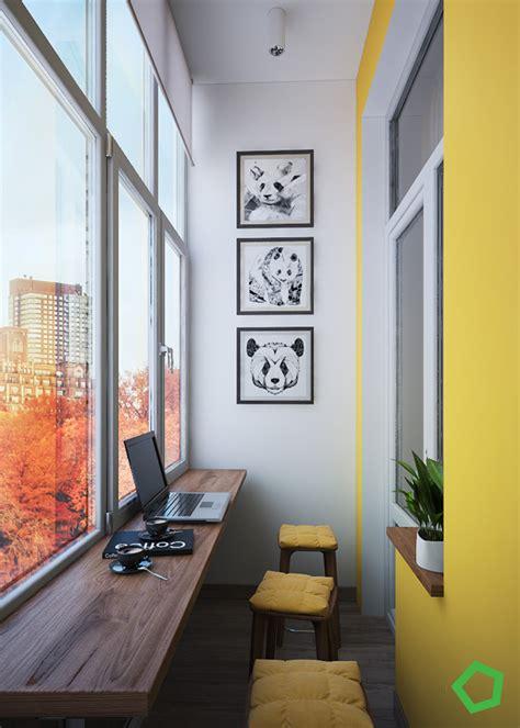 Furniture Livingroom Modern Yellow Apartment Balcony