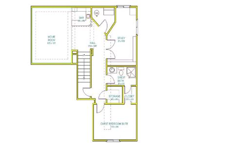 Basement Floor Plans 1000 Sq Ft The Carlson Group Llc Basement Floor Plans