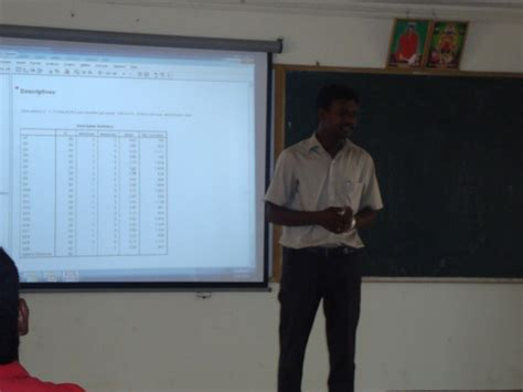 Spss Software For Mba Students one day workshop on software package for social sciences