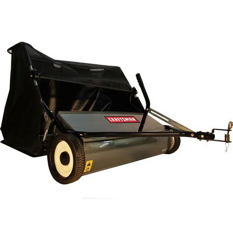 Craftsman Garden Tractor Attachments by Craftsman 42 Quot Universal Tow Sweeper Lawn Garden