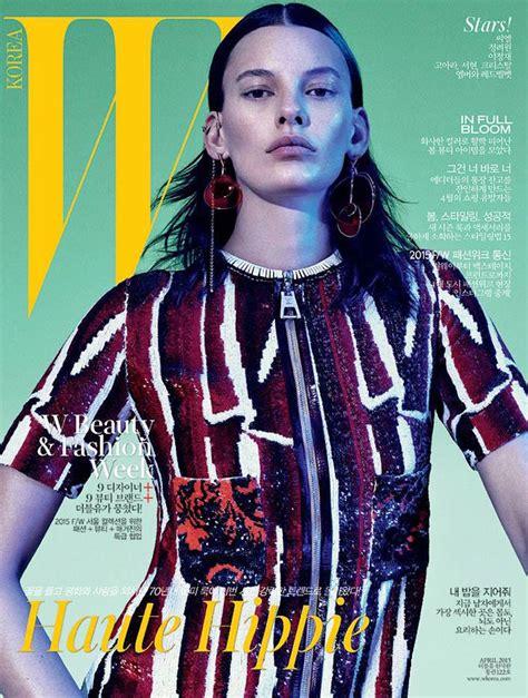 2015 w magazine cover october amanda murphy for w magazine korea april 2015 cover the