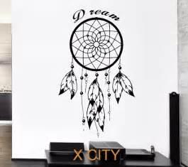 Owl Wall Mural aliexpress com buy black wall decal dreamcatcher native