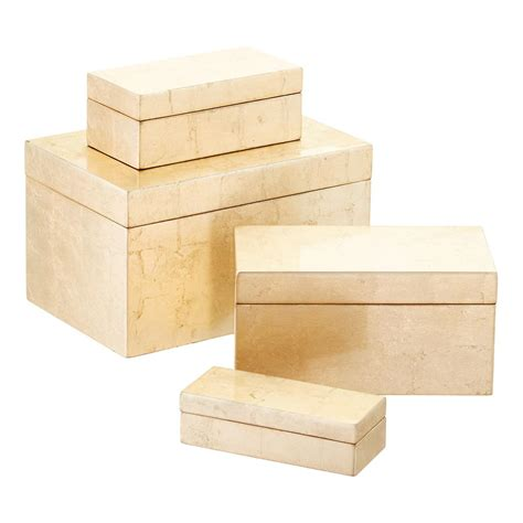 Gift Box Storage By Gizelshop gold lacquered storage boxes the container store