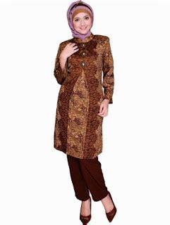 Kaos Satria Fu Sayang 10 kreasi baju batik muslim modern buat penilan formalmu lebih modis