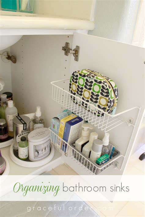 how to organize under bathroom sink organizing under the bathroom sink graceful order