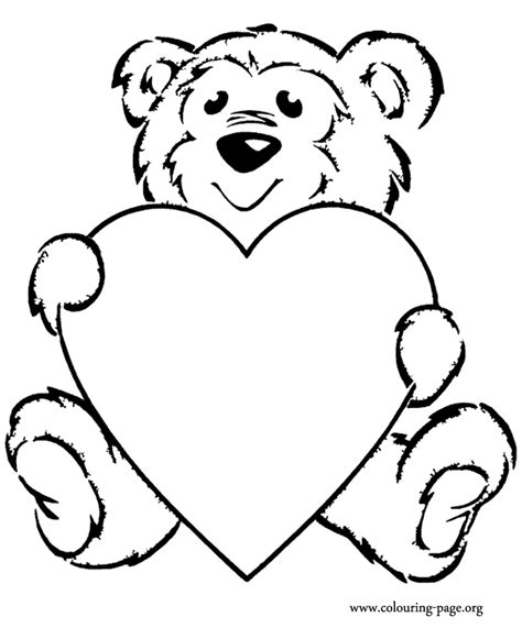 cute teddy bear coloring pages pictures teddy bear