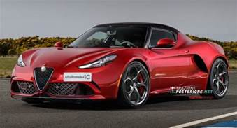 Alfa Romeo 4c Alfa Romeo 4c Goes From Bug Eyed To Looking In