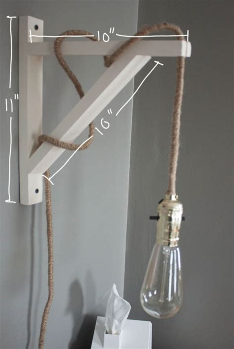 Diy Wall Sconce Light Crafty Industrial Illuminators Diy Wall L