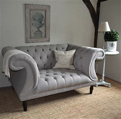 chesterfield buttoned sofa grey button back sofa home