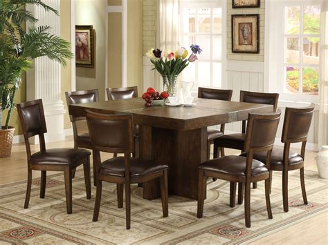 8 chair dining room set oak dining room table and 8 chairs chairs sets image