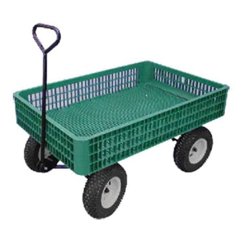 large wagon nursery and garden wagons plastic expanded metal