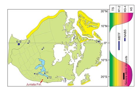 map usa equator usa s ancient hurricane belt and the us canada equator