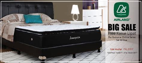 Kasur Bed Airland kasur bed tempat tidur matras springbed airland