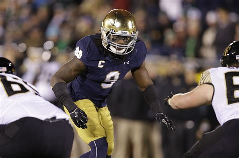 Notre Dame Part Time Mba Chicago by Notre Dame Jaylon Smith Has Business To Finish Before