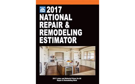 2017 national repair remodeling estimator remodeling