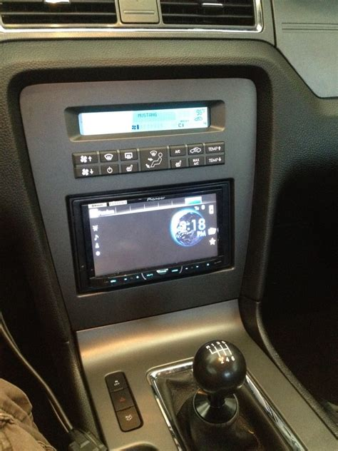 touch screen stereo ford mustang forum