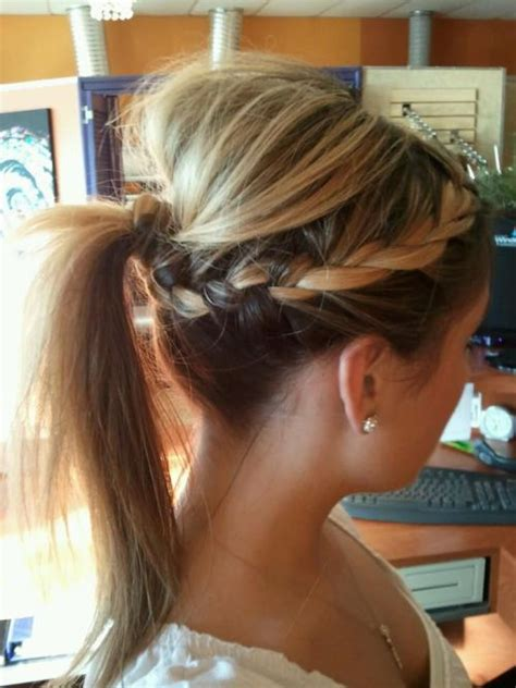 hairstyles for shoulder length hair pony tails exclusive2016 ponytail hairstyles for medium length hairs