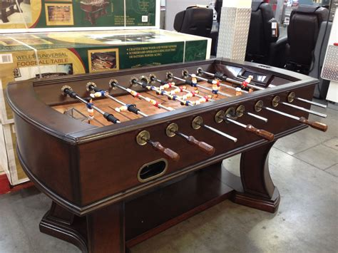 electronic table football foosball table with electronic scoring 450 at costco