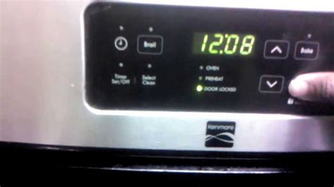 kenmore oven kenmore oven how to unlock oven
