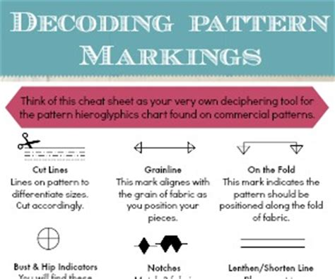 pattern markings definition understanding pattern markings the sewing loft