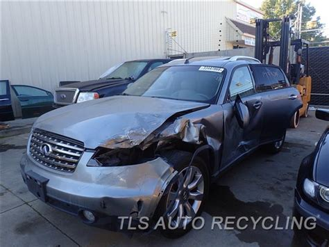 used infiniti fx35 parts parting out 2005 infiniti fx35 stock 6392bk tls auto