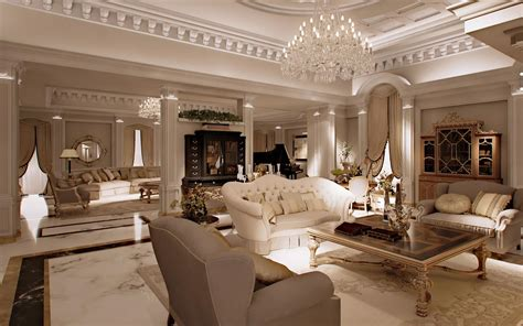 classic decorating style دکوراسیون پذیرایی دکوراسیون اتاق پذیرایی