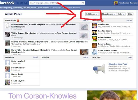 make a facebook fan page how to create a facebook fan page for your business