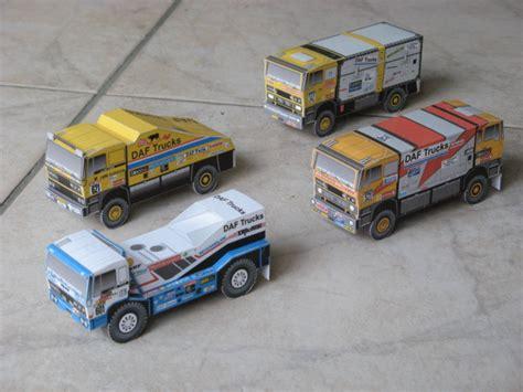daf turbotwin dakar rally trucks bouwplaatvanjeeigentrucknl