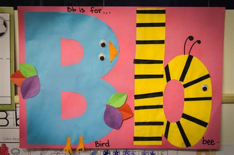 Family Game Room Ideas preschool letter b in my world