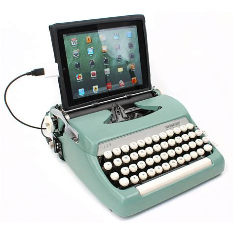Usb Pc usb typewriter computer keyboards the green