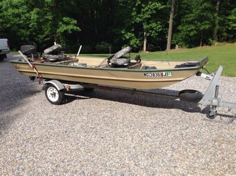 fisher aluminum boats aluminum boat 14 foot with motor and accessories fisher