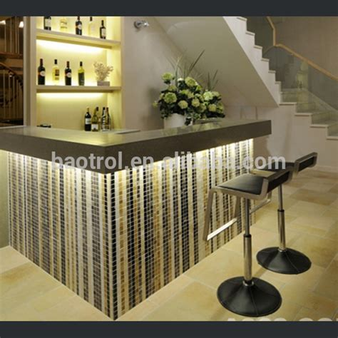 small bar counter artificial marble counter home bar