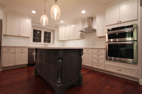 kitchen islands with posts gray kitchen island with turned post legs farmhouse