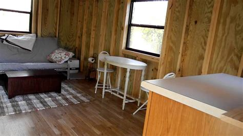She Sheds Book by Lofted Barn Cabin Interior 1st Day Youtube