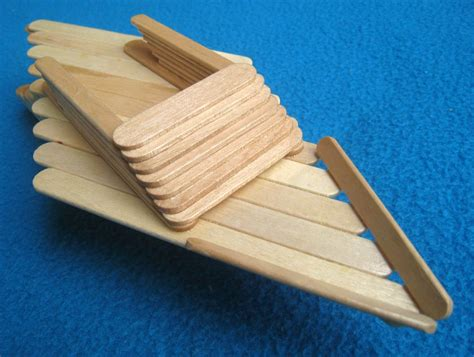 how to make a boat using craft sticks popsicle sticks diy family