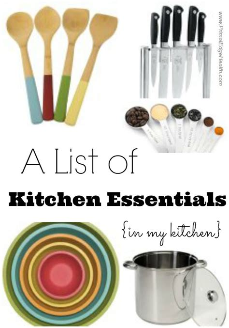 kitchen essential a list of kitchen essentials in my kitchen primal edge