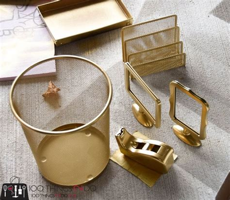 Gold Desk Accessories On A Budget Desk Accessories Buy Desk Accessories