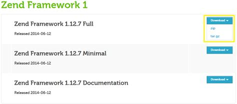membuat aplikasi web dengan zend framework cara install zend framework 1