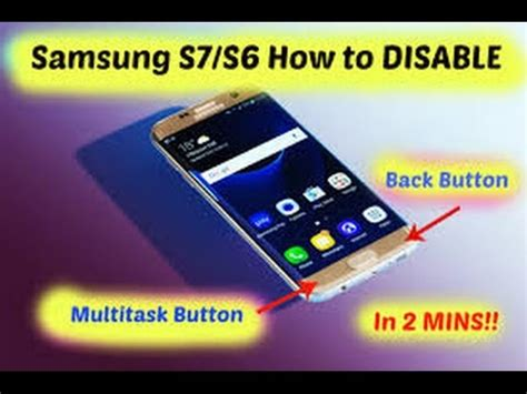 disable back button android samsung galaxy s8 s7 s6 s5 how to disable back and multitask button