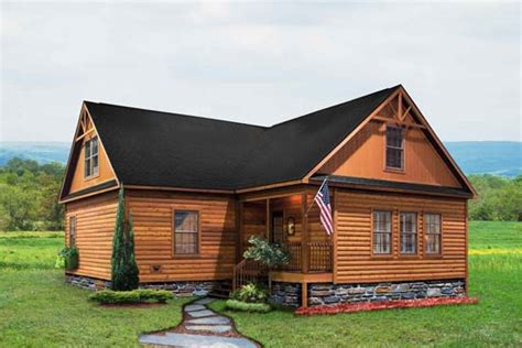 log sided modular home prices getmyhomesvalue